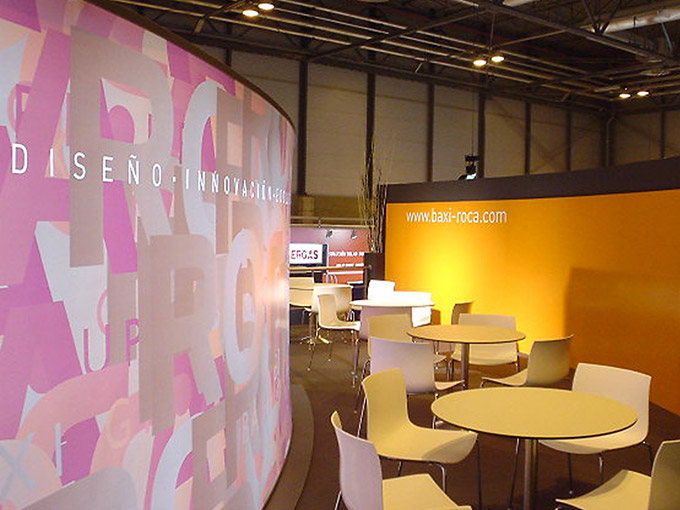 Services - Exhibition Stands - CLIMATIZACION 2007